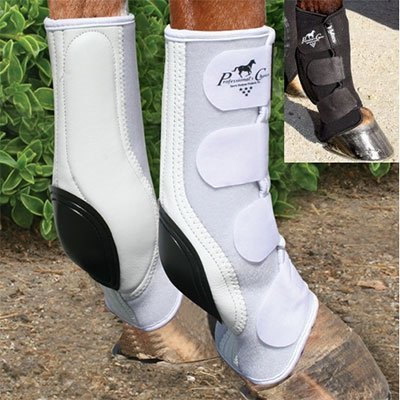 Professionals Choice VenTECH Slide-Tec Standard Skid Boots - Size:Horse Color:Bl by Professional's Choice