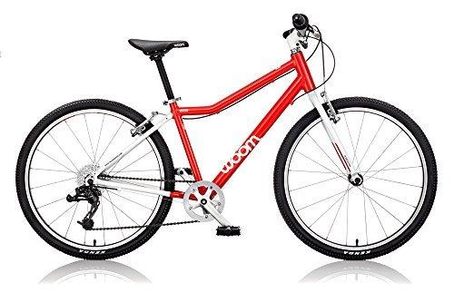WOOM BIKES USA WOOM 5 Bicycle 24 Red [並行輸入品] B0784P4C57