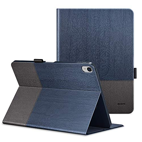 ESR Urban Premium Folio Case for iPad Pro 11, Book Cover Design[Apple Pencil Charging not Supported], Multi-Angle Viewing Stand, Smart Cover Auto Sleep/Wake for iPad 11 (2018 Release), Knight