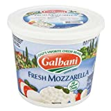 Galbani Fresh Mozzarella Pearl 4g, 3 Pound - 2 per case.
