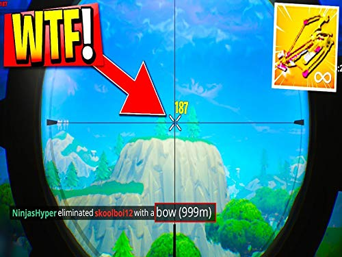 World Record Fortnite Longest Crossbow Shot!