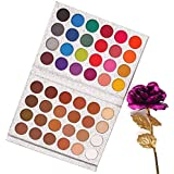 Beauty Glazed 48 Colors Eyeshadow Palette Highly Pigmented Makeup Eye Shadow Silky Natural Shimmer Powder Make Up Waterproof Shimmer Glitter matte Eye Shadow Palette Cosmetics