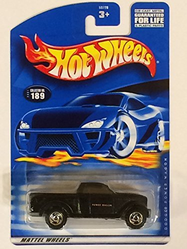 #2001-189 Dodge Power Wagon Collectible Collector Car Mattel Hot Wheels 1:64 Scale