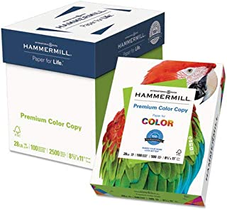product image for Color Copy Paper, 100 Bright, 28lb, Letter, Photo White, 500/RM, 5 RM/CT