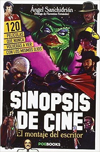 Sinopsis de cine. El libro: Angel Sanchidrián: 9788494554605 ...