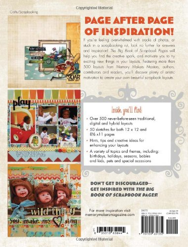 The Big Book Of Scrapbook Pages 500 New Designs For Capturing All