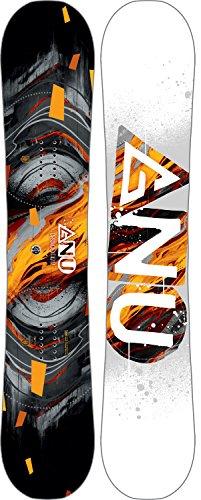 Gnu Carbon Credit Asym Snowboard Mens Sz 150cm