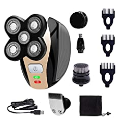 👍Package Include: 1 x Main Machine 1 x Shaver Head 1 x Hair Trimmer Head 1 x Nose Trimmer Head 1 x Face Cleaning Brush Head 1 x Soft Face Cleaning Head 3 x Limit Combs 1 x Cleaning Brush 1 x Protection Cover 1 x Manual 👍Specification: Name: 5...