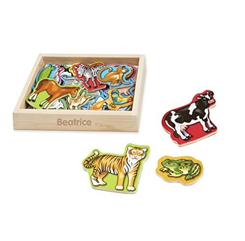 Melissa & Doug 20 Wooden Magnets