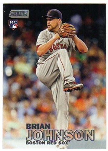 2016 Topps Stadium Club Baseball RC #273 Brian Johnson Boston Red (Boston Red Sox Stadium Seat)