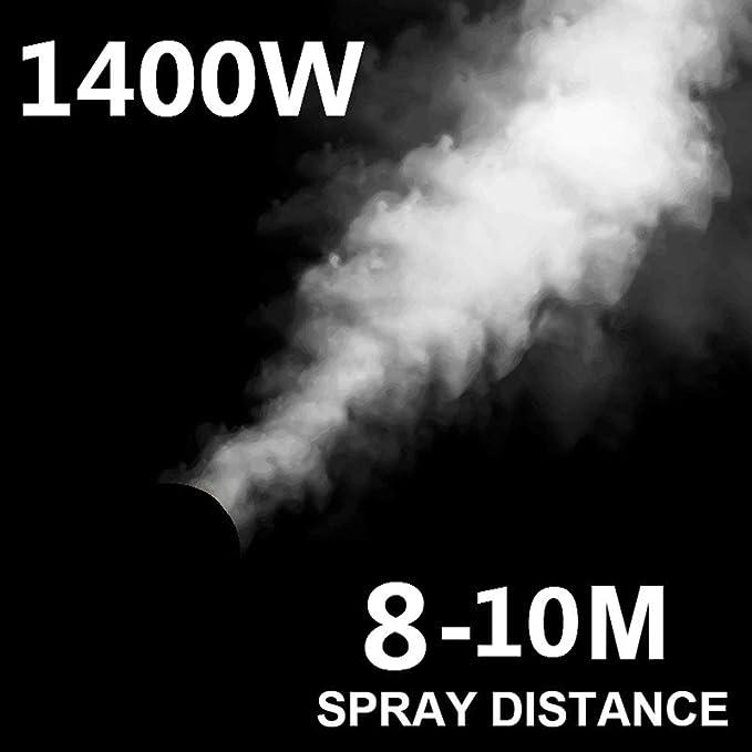 Hospital Desinfecci/ón De Los CDC para La Fumigaci/ón con Pesticidas Insecticidas Granja WYY 1400W El/éctrica Pulverizador De Mochila Nebulizadores ULV M/áquina Pulverizadora Estaci/ón,10l