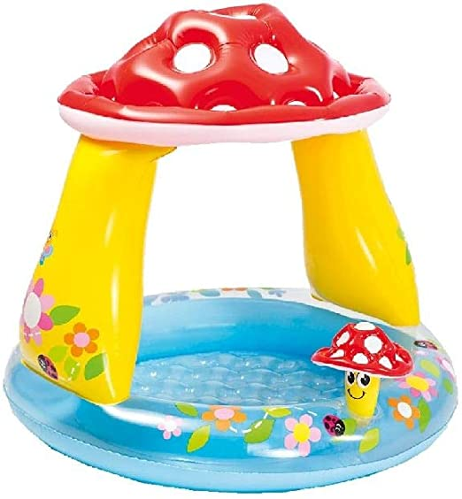 Intex-57114 Piscina hinchable champiñón, multicolor, 102 x 102 x ...