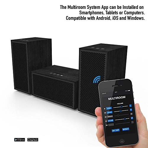 multiroom audio system 3 speaker package includes 1. Black Bedroom Furniture Sets. Home Design Ideas