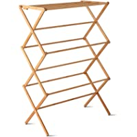 Artiss Foldable Clothes Laundry Drying Rack Portable Bamboo Clothes Airer Hanger Stand
