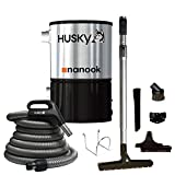 Husky Nanook Central Vacuum & Attachments 3000 sq ft.