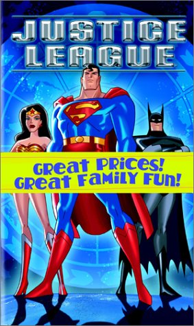 Batman - The Animated Series - The Legend Begins/Justice League [VHS]