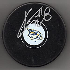 Kyle Turris Autographed Puck Nashville Predators