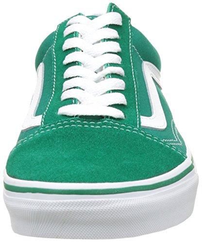 Vans Herren UA Old Skool Sneakers Grün (Suede/canvas Ultramarine Green/true White)