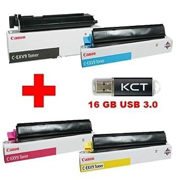 Image non disponible pour la couleur   Canon iR C 2570 I C de toners  originaux-exv9 exv9 8640 a002 (Noir) a30c7eb3ab3