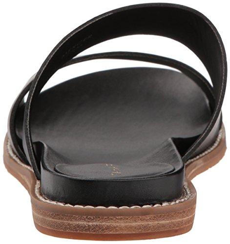 Women's Sandal Black Tahari Flat Mercer TA OIdT76x