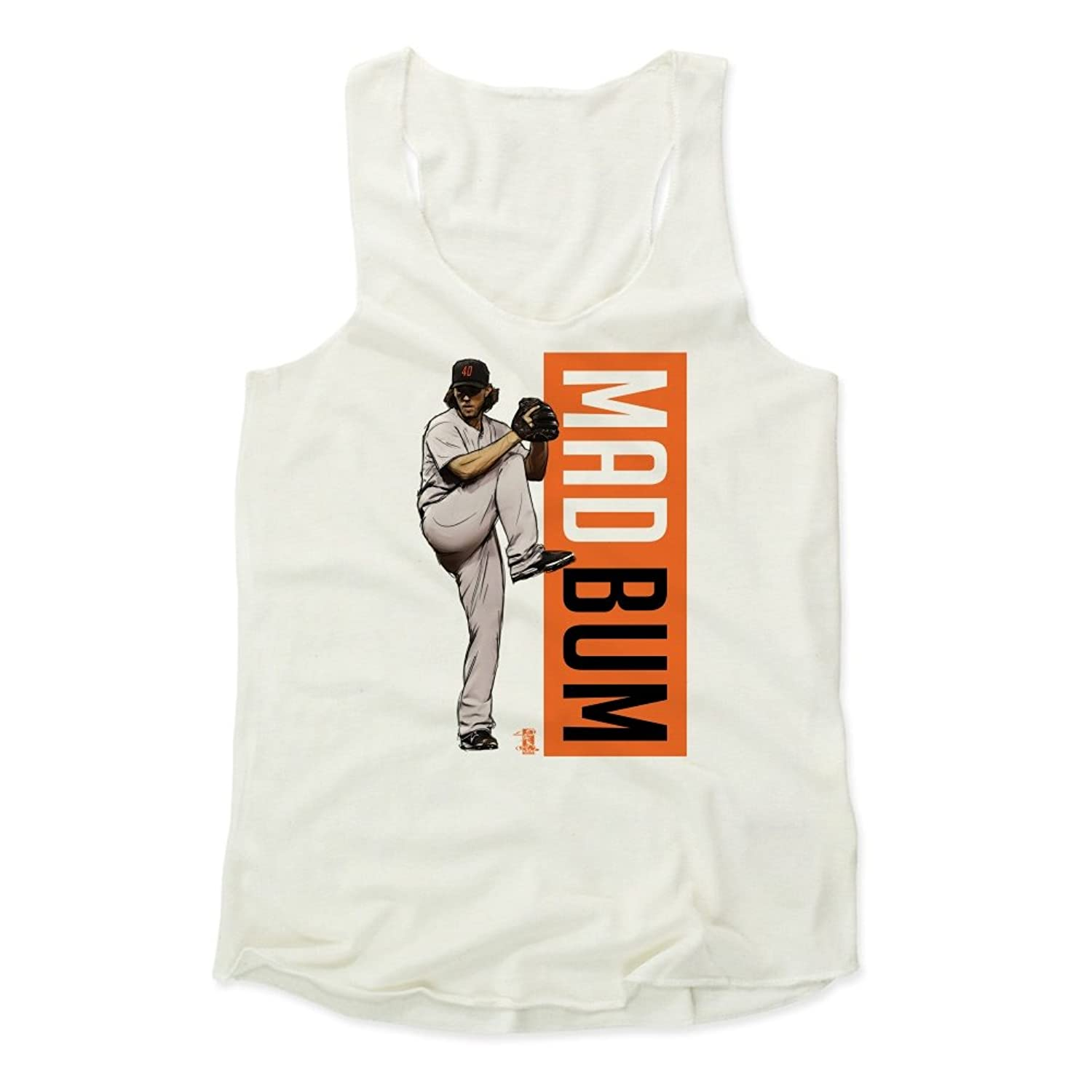 Madison Bumgarner Outline O San Francisco Women's Tank Top