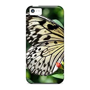 Brand New 5c Defender Case For Iphone (paper Kite Butterfly)