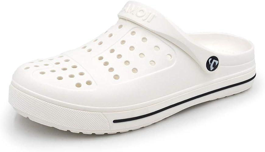 AMOJI Zuecos de jardín Unisex Zapatos Sandalias Zapatillas Mules CL1820: Amazon.es: Zapatos y complementos