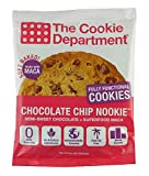 Cheap The Cookie Department Chocolate Chip Nookie – Chocolate Chip Maca Superfood Cookies – 3 Ounce (Pack of 12)