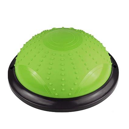 Amazon.com: TLMYDD Yoga Balance Ball Bola Pilates Hemisphere ...