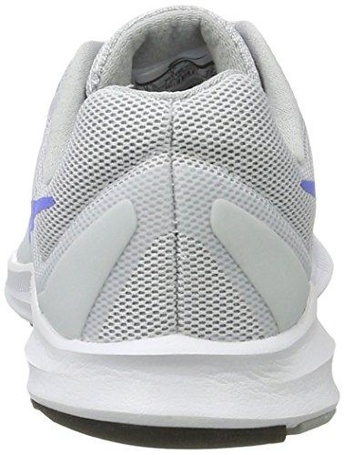 Nike Vrouwen Downshifter 7 Zuiver Platina / Medium Blauw / Wolf Grijs