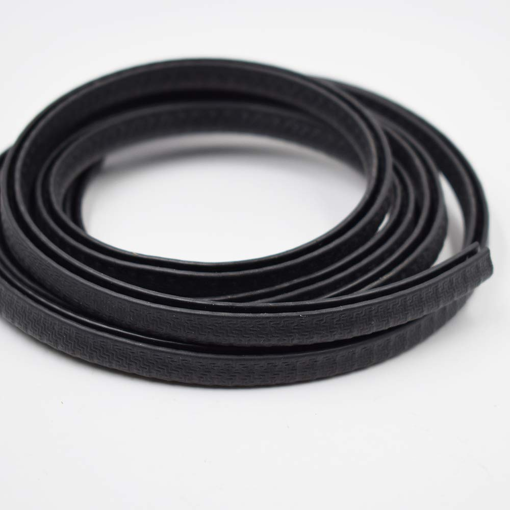 1//8 Fits Edge U Extrusion Car Door Edge Guards PVC Rubber Seal Protector Weather Strip Protector Fit for Most Car Seals strip Edge Trim Black Small 5 Feet