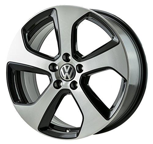 2006-2016 - VOLKSWAGEN - GOLF-GTI - 18x7.5 - 5-112 - 5 SPOKE - FACTORY OEM WHEEL RIM-REMANUFACTURED (Volkswagen Gti Rims compare prices)