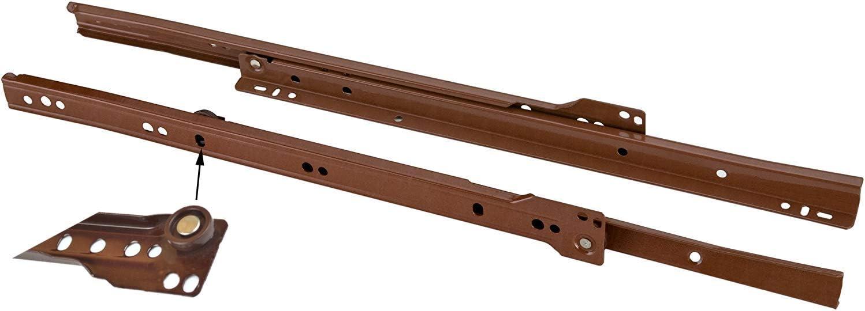 Venture Horizon 6 Drawer Chest Oak Metal Euro Drawer Slides