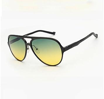 2c3b35575f Z&HA Gafas De Sol De Conducción Nocturna para Hombres, Día Y Noche Gafas De  Polarización