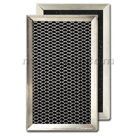 "Carbon Range Hood Filter - 4-13/16"" X 7-11/16"" X 3/8"""