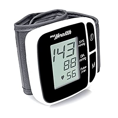 Pyle PHBPBW40BK Bluetooth Smart Blood Pressure Monitor for All Ages