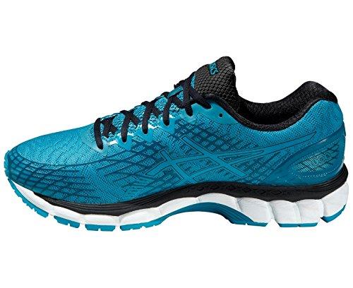 ASICS Gel-Nimbus 17 - Zapatillas de deporte para hombre azul/negro/blanco