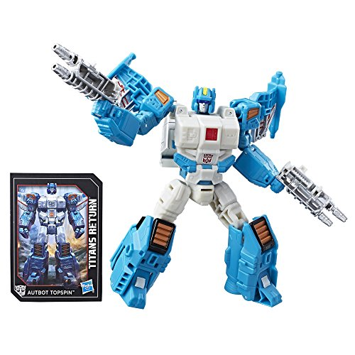- Transformers Generations Titans Return Deluxe Autobot Topspin and Freezeout