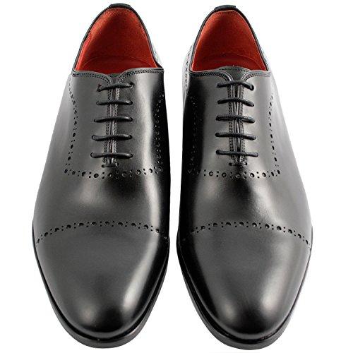Exclusif ParisExclusif Paris Cocteau, Chaussures homme Richelieus homme - Zapatos de Cordones Hombre Negro - negro