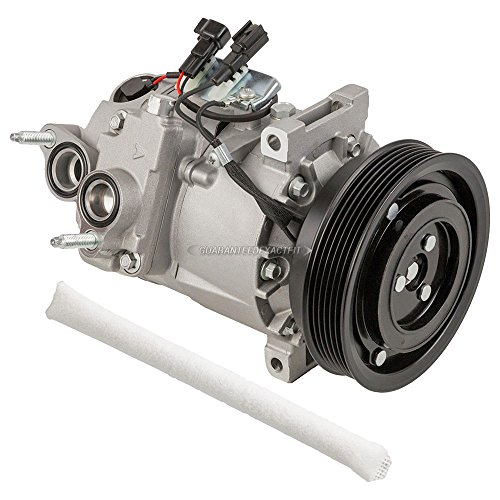 AC Compressor w/A/C Drier For Volvo S80 XC70 V70 - BuyAutoParts 60-89025R2 New ()
