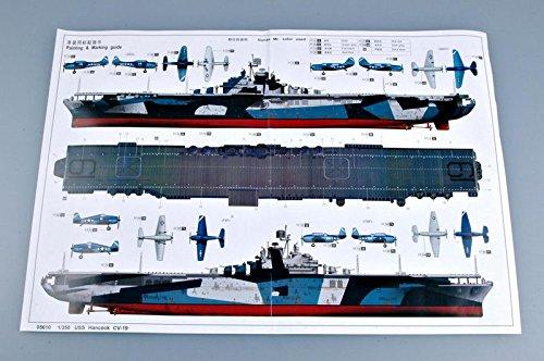 トランペッター 1/350 米海軍 空母 CV-19 ハンコック プラモデル[並行輸入品]