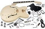 Solo ES Style DIY Guitar Kit, Maple Body, Semi Hollow Body, ESK-35