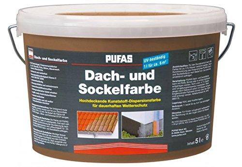 Dach- und Sockelfarbe 2,5 L, 954 Sandstein