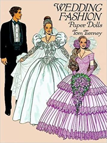 Wedding Fashion Paper Dolls