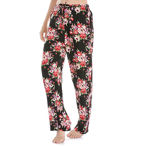 Printed Cotton Pant - 1