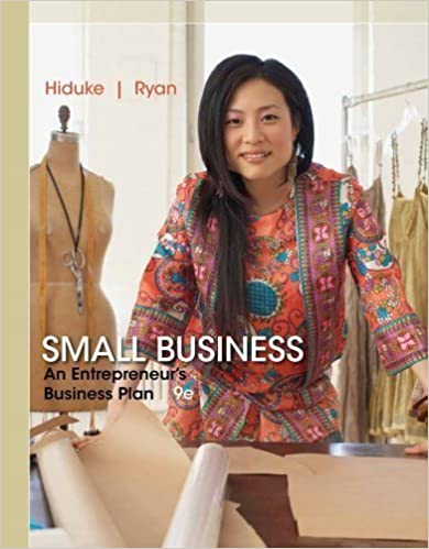 Livres à téléchargement gratuit textile Small Business: An Entrepreneur's Business Plan 9th (ninth) Edition by Hiduke, Gail, Ryan, J. D. published by Cengage Learning (2013) PDF RTF B00E6TD0R6
