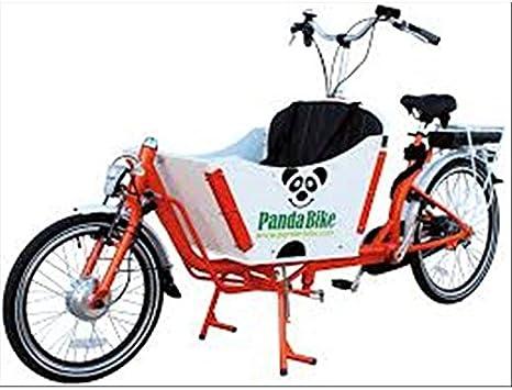 Bicicleta Tandem Cargo Custom transporte personas y cosas verde blanco y negro: Amazon.es: Deportes y aire libre
