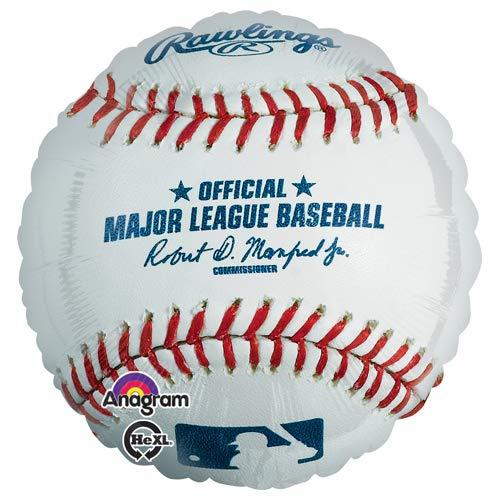 18 Anagram 31649 MLB Rawling Baseball Foil Balloon Multicolored