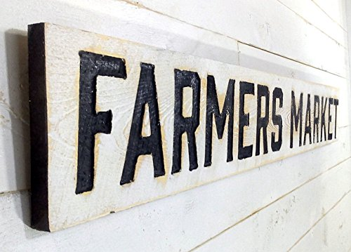 FARMERS MARKET Sign Horizontal 55