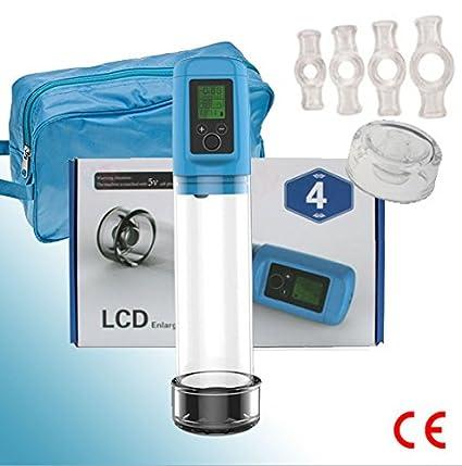 LCD Vacuum. Bomba de Pene para Problemas de Erección. Tratamiento de Fitness Sexual con Bomba de ...